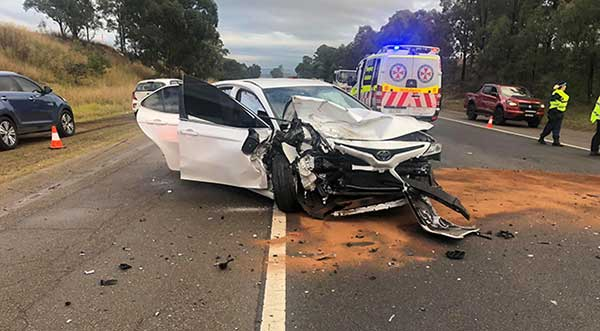 Car accident towing Richmond NSW